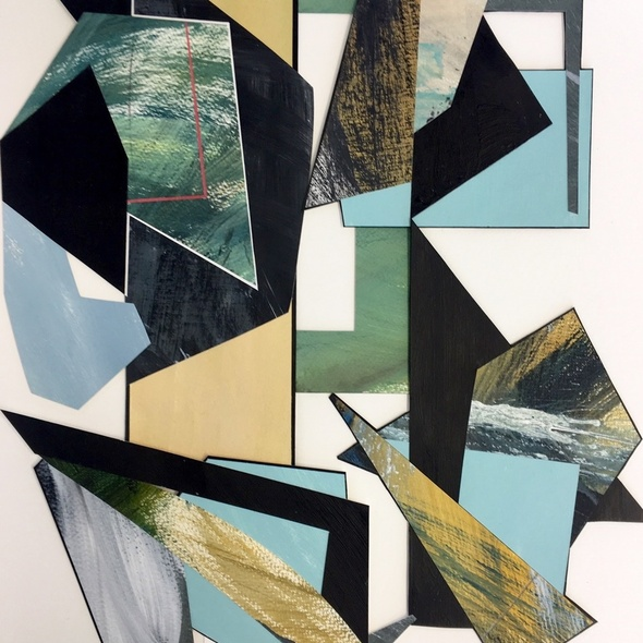WORKSHOP: Abstract Assemblage Paintings